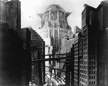 Metropolis skyline