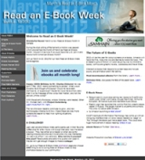 Read an E-Book Week 2012 website