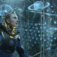 David, the android (from Prometheus, 20th Century Fox)