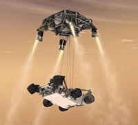 Curiosity Rover landing (NASA)