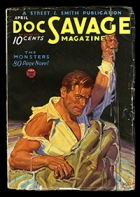 Doc Savage cover: The Monsters