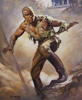 Doc Savage by Boris Vallejo