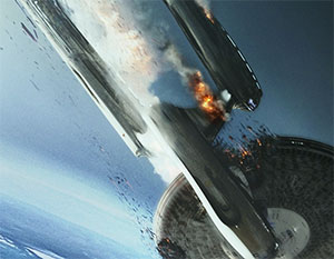 enterprise crash and burn