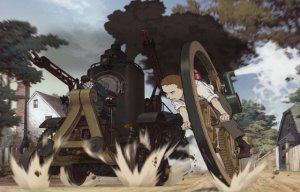 Steamboy on the run