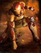 Iron Man landing