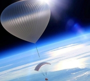 World View capsule and balloon