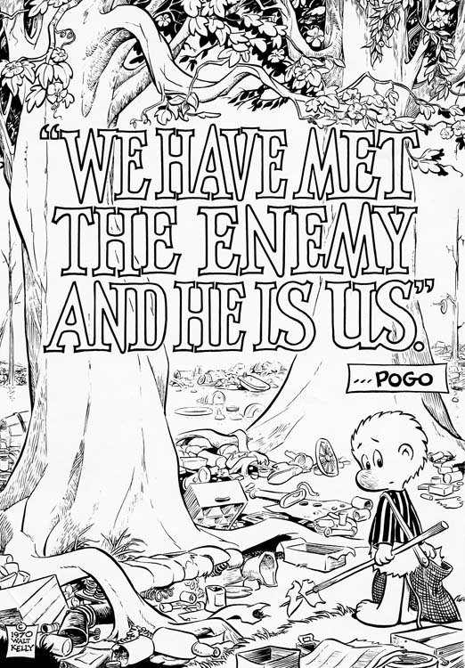 Pogo 1970 Earth Day poster