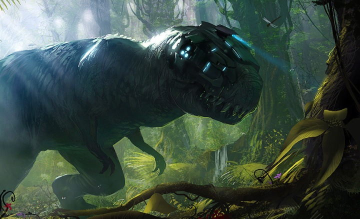 cyborg dinosaur
