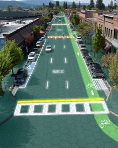 solar roadway artist's concept