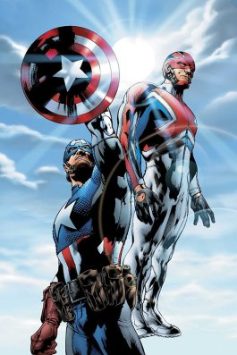 Captain America Captain Britain Ultimates