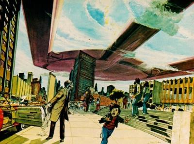 Childhood's End art by Neal Adams