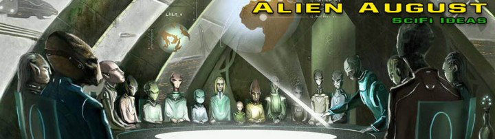SciFi Ideas Alien August banner