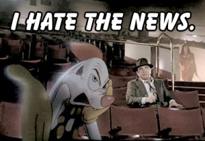 Roger Rabbit I hate the news