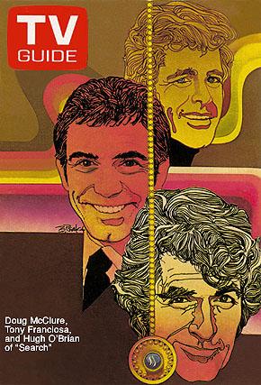 Doug McClure, Tony Franciosa and Hugh O'Brien of Search