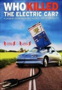 DVD cover of Who Killed the Electric Car?