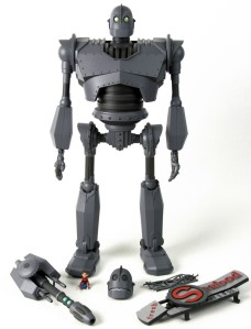 Iron Giant and accessories by Mondo