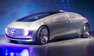 Daimler F015 concept self-driving car