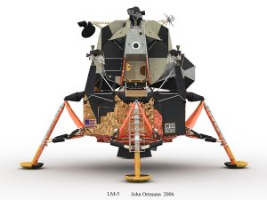 NASA Lunar Excursion Module