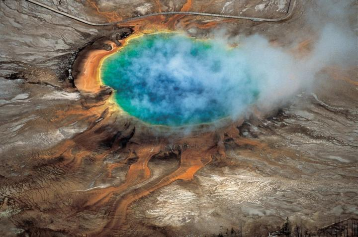 Yellowstone crater