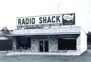 Radio Shack store