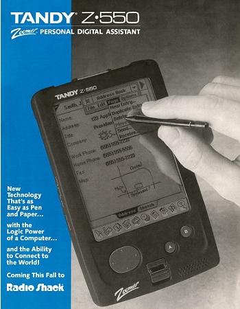 TANDY Z-550 PDA